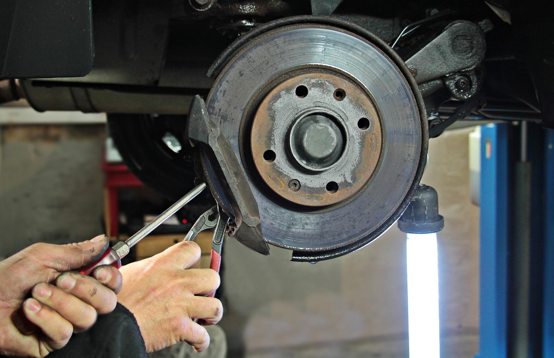 Bremsen Service bremsscheibe von Auto