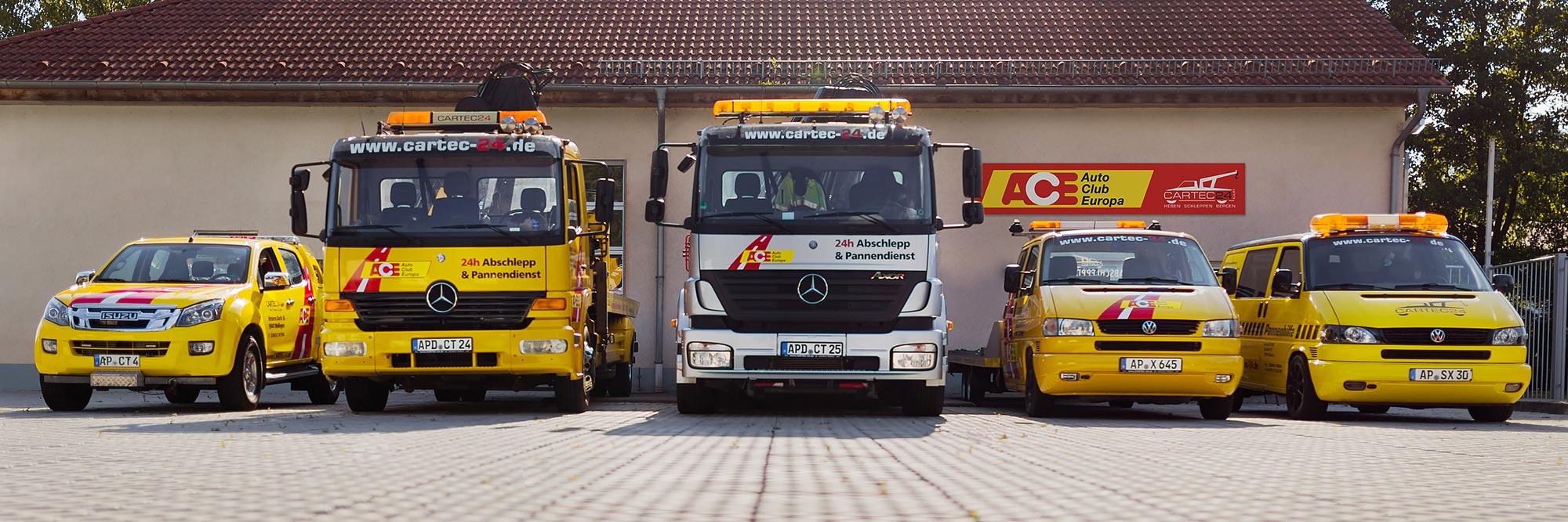 abschleppdienst in Thüringen