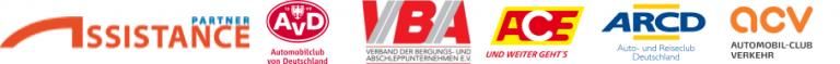 pannenhilfe thüringen_logos