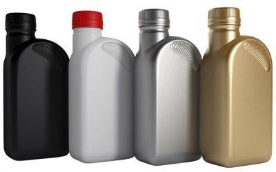 Motoröl für KFZ in Flaschen
